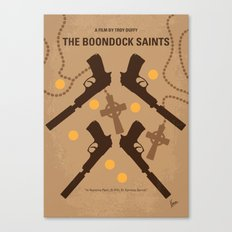 No419 My BOONDOCK SAINTS minimal movie poster Canvas Print