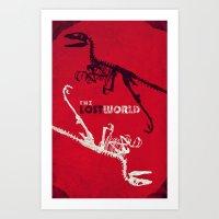 JP2: The Lost World Art Print