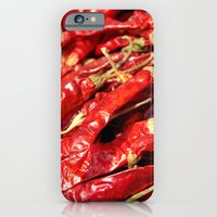 Red Chilies Drying Kathmandu iPhone 6 Slim Case
