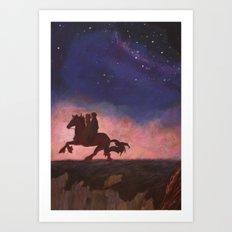 The Scorpio Races Art Print
