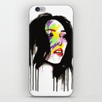 Leia iPhone & iPod Skin