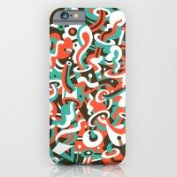 iPhone & iPod Case featuring Schema 8 by C86   Matt Lyon