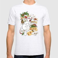 Feed My Rabbit Mens Fitted Tee Ash Grey SMALL