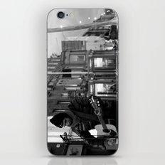 Waiting.. [Black & White] iPhone & iPod Skin
