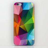 Geometric view iPhone & iPod Skin