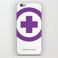 everyone counts iPhone & iPod Skin
