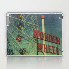 Wonder Wheel at Coney Island luna park, New York,  scaned sx-70 Polaroid Laptop & iPad Skin