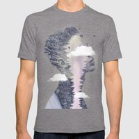 Dreaming of Ink Mens Fitted Tee Tri-Grey SMALL