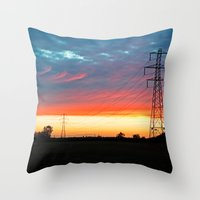 The Warmth Of Lincolnshi… Throw Pillow