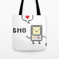Beemo Lovin' Adventure Time Boogie Tote Bag