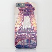 let's go to paris iPhone 6 Slim Case