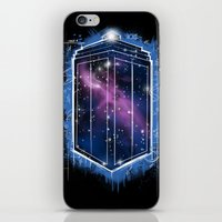 Time, Space, And Graffit… iPhone & iPod Skin