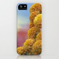 Autumn Botanical -- Gold… iPhone (5, 5s) Slim Case