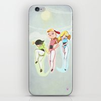Powerpuff Girls iPhone & iPod Skin