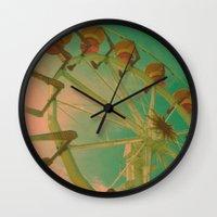 wheel carousel Wall Clock