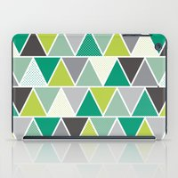 Triangulum - Emerald iPad Case