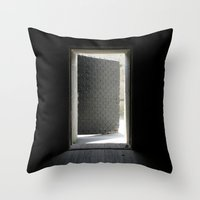 Open the Door Throw Pillow