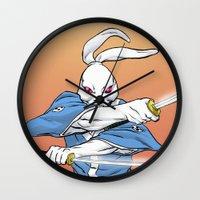 Usagi Yojimbo Wall Clock