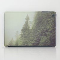 foggy morning iPad Case