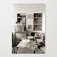 chester kitchen Canvas Print