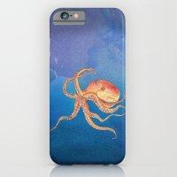 Octopus Blue iPhone 6 Slim Case