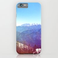 iPhone & iPod Case featuring good old Alps by Julia Kovtunyak