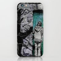 iPhone & iPod Case featuring The Green Door by Leanna Rosengren