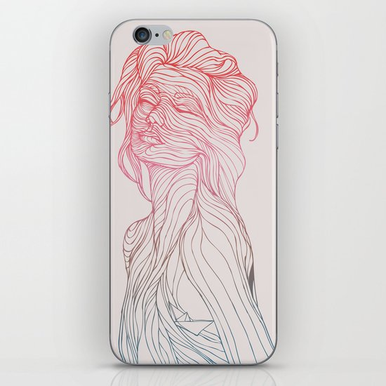 Someplace Beautiful iPhone & iPod Skin