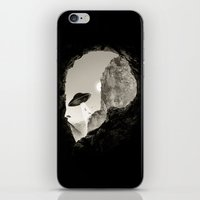 Alien´s Head iPhone & iPod Skin