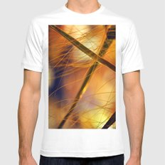 palms nature Mens Fitted Tee White SMALL