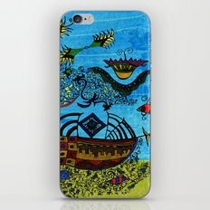 about angels and pirates iPhone & iPod Skin