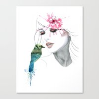 Her Secret*** Canvas Print