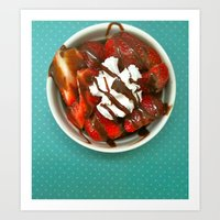 Strawberry Delight Art Print