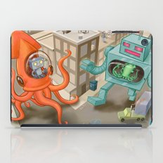 Squid vs Robot iPad Case