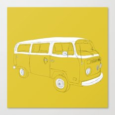 VW T2 Microbus Canvas Print