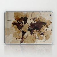 Map Stains Laptop & iPad Skin