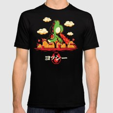 Yoshzilla SMALL Black Mens Fitted Tee