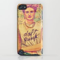 iPhone & iPod Case featuring Daft Punk & Frida by Gzm_guvenc