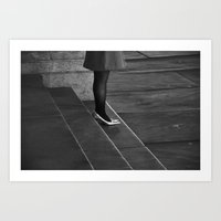 Waiting for Prince Charming (Five Minutes to Midnight) Art Print