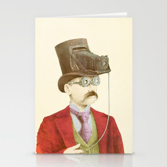 The Photographer Stationery Card