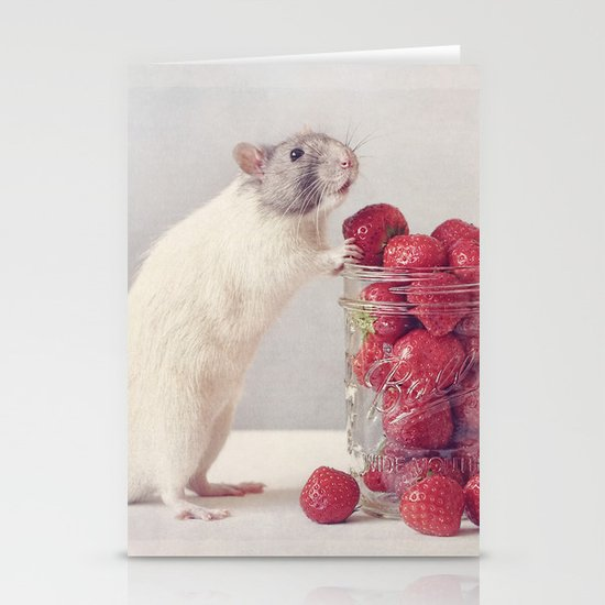 Snoozy Stationery Card