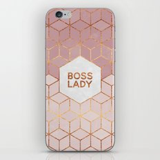 Boss Lady / 2 iPhone & iPod Skin