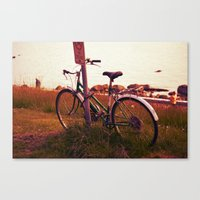 No Cycling  Canvas Print