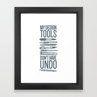 Cocky Designer Framed Art Print