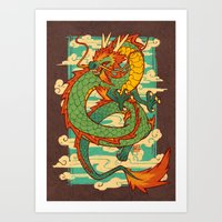 Serpent of the Wind Art Print