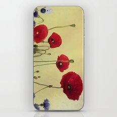 4 Poppys iPhone & iPod Skin