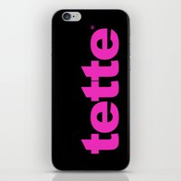 TETTE iPhone & iPod Skin