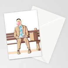 Bubble Gump Stationery Cards