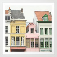 Gent Houses - Belgium Photography Art Print