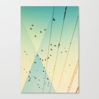 Canvas Print featuring Cool World #3 by Alicia Bock